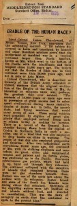 Middlesbrough Std Jan, 1925 article