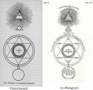 Chaldean Cosmogonic Diagrams