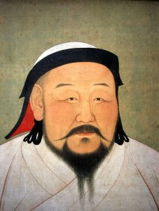 Kublai Khan, grandson of Chingghis Khan
